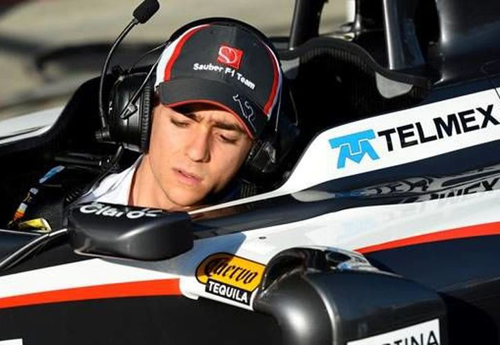 El mexicano Esteban Gutiérrez ya no correrá para la escudería Sauber a partir del año próximo. (mexico.cnn.com/Foto de archivo)