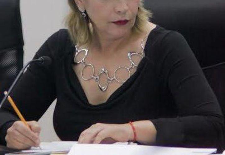 La Diputada local, Susana Hurtado Vallejo, señaló las afectaciones que se tienen por el mal manejo de los residuos sólidos. (Cortesía)