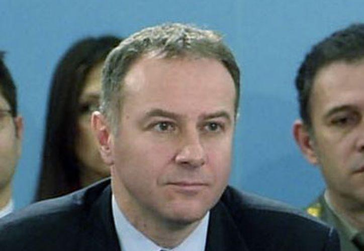 Milinkovic durante una reunión en los cuarteles de la OTAN en Bruselas, en diciembre de 2006. (Agencias)