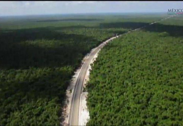 La autopista tiene una extensión de 54 kilómetros, aproximadamente. (Twitter/@GobSolidaridad)