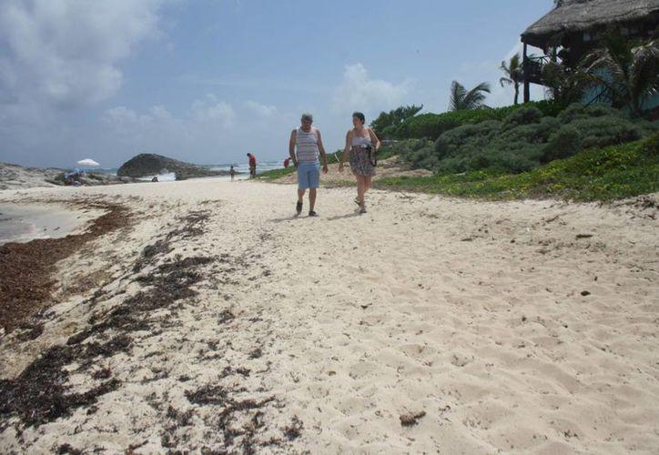 Autoridades de Tulum descartan la certificación de los arenales. (Sara Cauich/SIPSE)