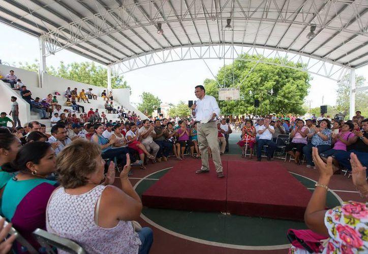 El mandatario estatal escuchó y canalizó las demandas de las productoras yucatecas. (Milenio Novedades)