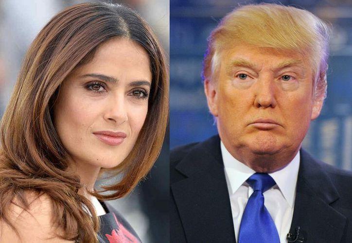 """""""Él no es importante, él no es suficientemente grande para ti. Tienes que salir conmigo"""", dijo el presidente, según Hayek. (Foto: Contexto/Internet)"""