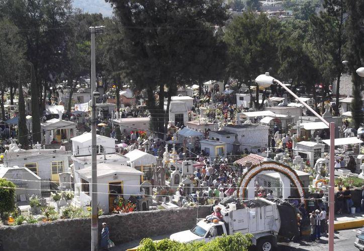 Panteón Viejo de Ecatepec, donde ocurrió la trágica broma que cobró la vida de Zulia Rodríguez. (aquiecatepec.com)