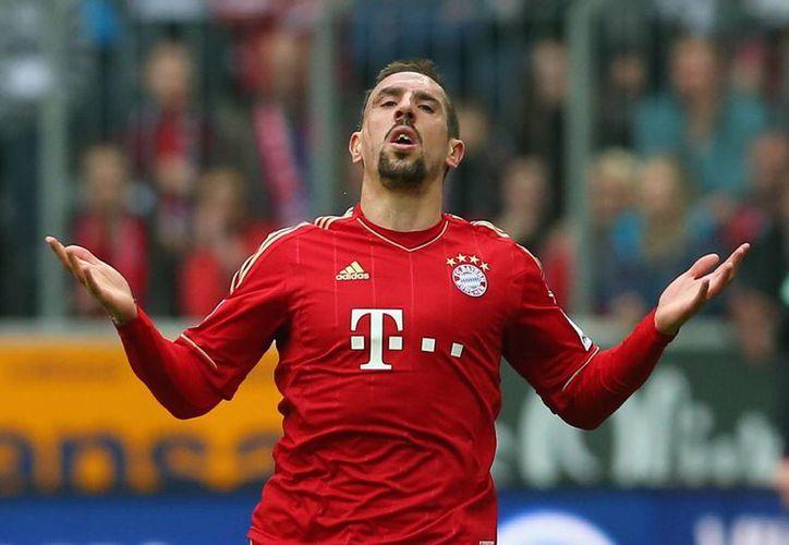 Franck Ribery sigue luchando con las lesiones que lo atormentan desde el inicio de la campaña 2014-2015, ahora el francés se perdería el inicio de pretemporada con el Bayern Munich. (Fotografía: talksport.com)