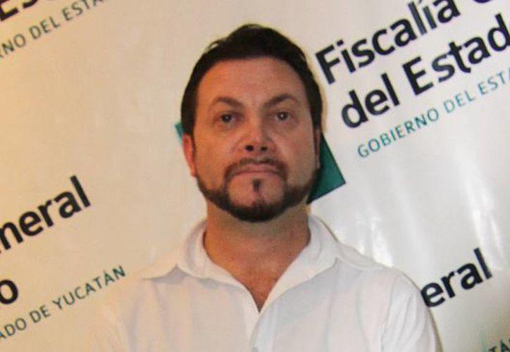 El presunto defraudador Raúl Antonio Magaña Barrera ya se encuentra tras las rejas. (Milenio  Novedades)