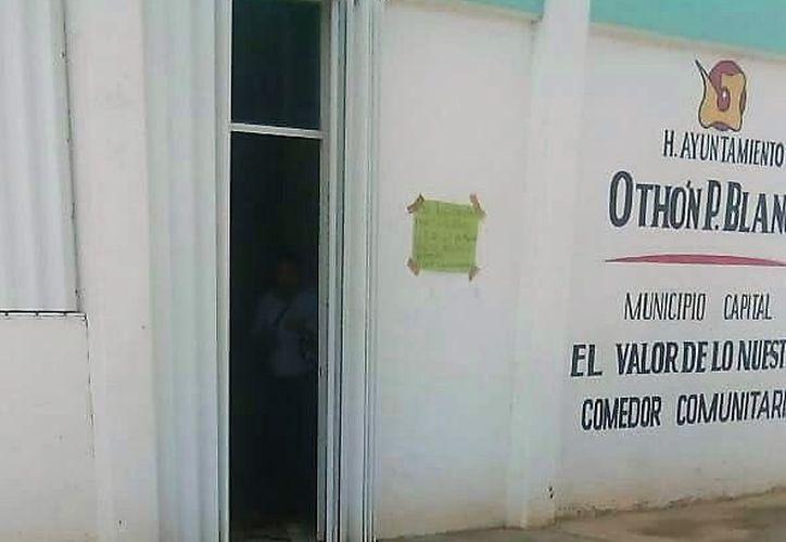 Un comedor comunitario de Álvaro Obregón Nuevo fue asaltado dos días seguidos. (Carlos Castillo/SIPSE)