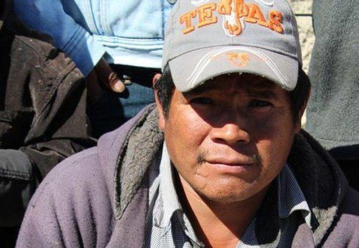 Juan Ontiveros defendía de la explotación maderera el territorio de su comunidad, llamda Choréachi. (Animal Político)