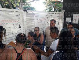 Inician las votaciones en Puerto Morelos