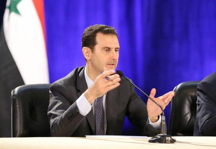 Asad acusó a Occidente de liderar una guerra ideológica contra el mundo árabe. (EFE)
