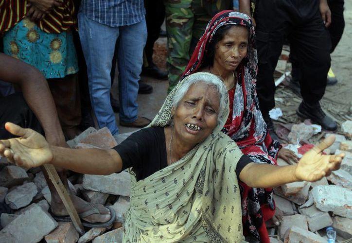 Al momento del colapso, había unos 4,000 trabajadores en el edificio. (Agencias)