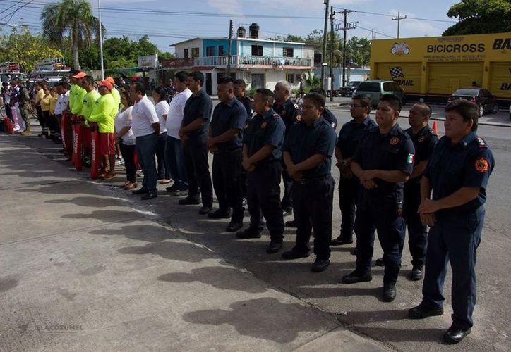 El fin de semana pasado dieron banderazo al operativo de seguridad. (Foto: Redacción)