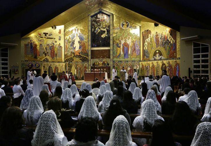 La diócesis de Ciudad del Este, la segunda más grande de Paraguay, tiene unos 800 mil dólares en deudas dejadas por el obispo Rogelio Livieres. (AP)