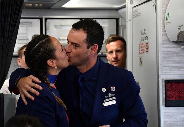 La pareja estaba casada por el civil. (Vincenzo Pinto / Reuters)