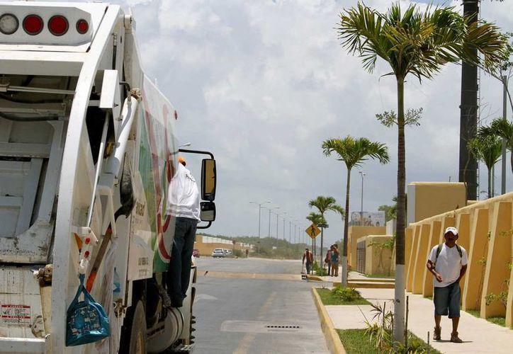 Habitantes de la colonia Villas del Sol piden a las autoridades que se implemente el sistema de separación de residuos en contenedores diferentes.  (Adrián Monroy/SIPSE)