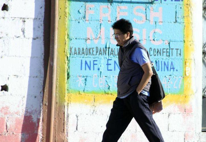 En Chetumal se sintieron temperaturas frescas por el frente frío número 30 y actualmente por el 31. (Harold Alcocer/SIPSE)