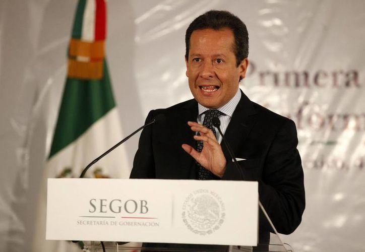 Sánchez destacó el papel de la sociedad en la estrategia de seguridad. (Archivo/Notimex)