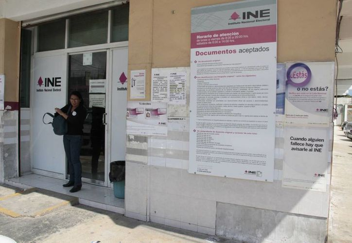 Los módulos de la Gran Plaza y la Junta Distrital 03 en la Región 73 mantendrán abierto el servicio de las 8 a las 24 horas. (Tomás Álvarez/SIPSE)
