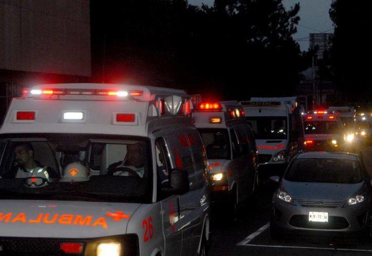 El esposo de Elizabeth es chofer de una ambulancia, y a veces coinciden. (Notimex)