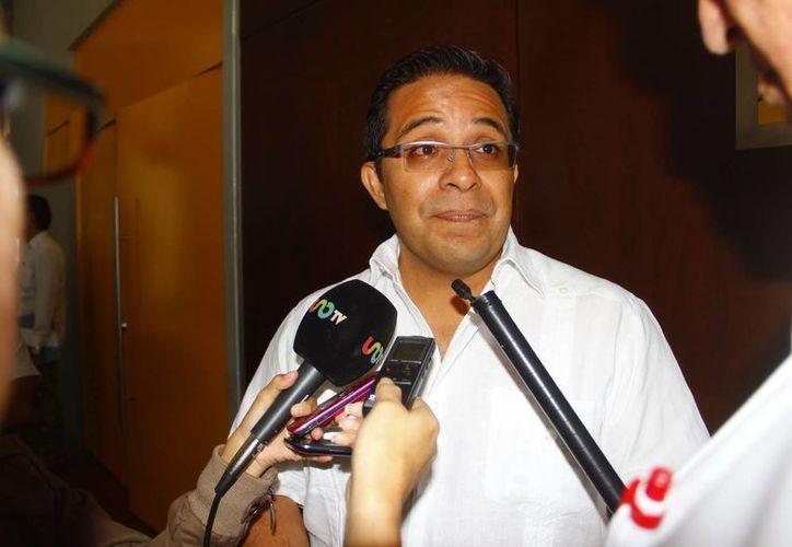El secretario de Turismo, Saúl Ancona Salazar, dijo que Mérida es un lugar privilegiado. (Milenio Novedades)