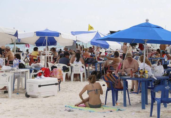 Playa del Carmen recibe mayormente visitas de países latinos. (SIPSE)