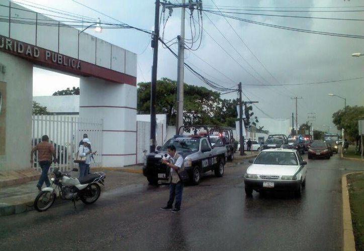 Seguridad Pública se mantiene alerta de la jornada electoral. (Eric Galindo/SIPSE)