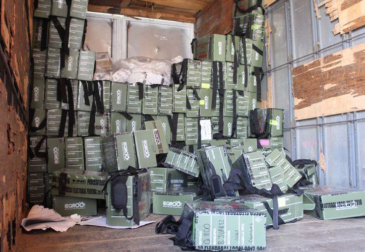 La documentación y el material que fueron generados y utilizados durante la pasada jornada electoral ya se encuentran resguardados en las instalaciones del Ieqroo. (Joel Zamora/SIPSE)