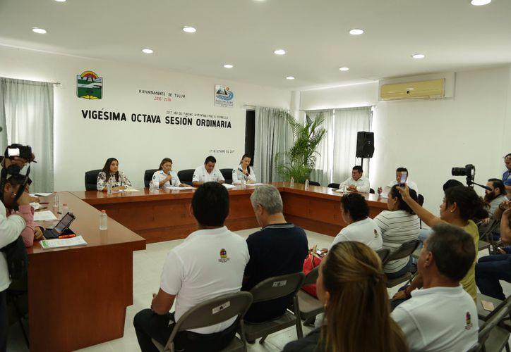 Ratifican programas en la Vigésima Octava Sesión Ordinaria de Cabildo. (Cortesía)