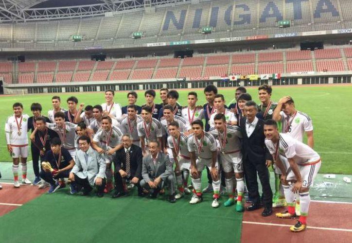 La Selección Mexicana se prepara para disputar la Copa del Mundo Sub 17 India. (Foto: Televisa Deportes)