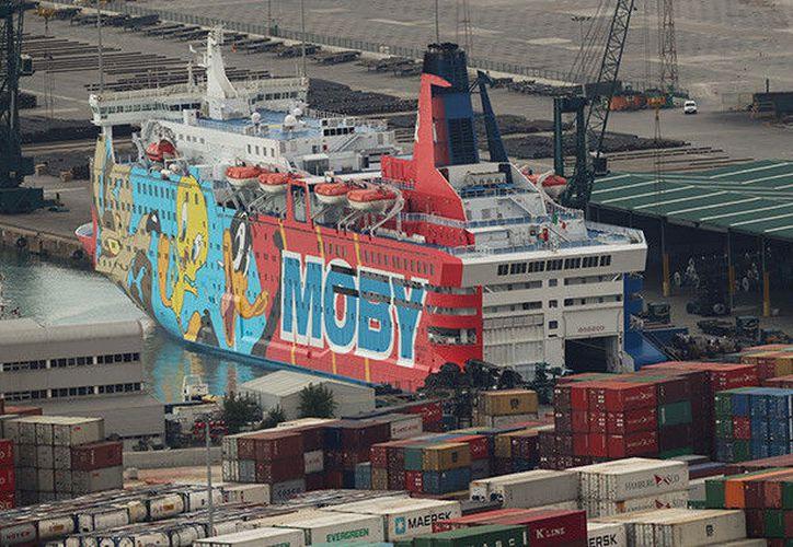 El Gobierno español alquiló los barcos para alojar a miles de agentes de la Guardia Civil y del Cuerpo Nacional de Policía. (Foto: RT)