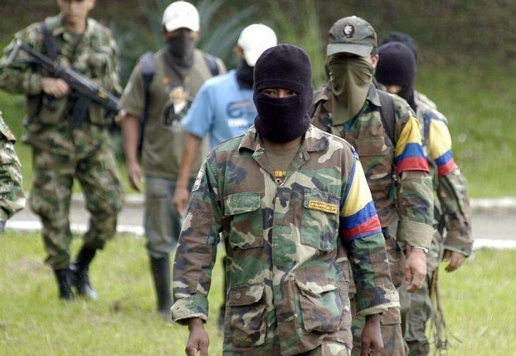 La patrulla policial fue atacada por integrantes del ELN en el municipio de Saravena, Colombia. (EFE)