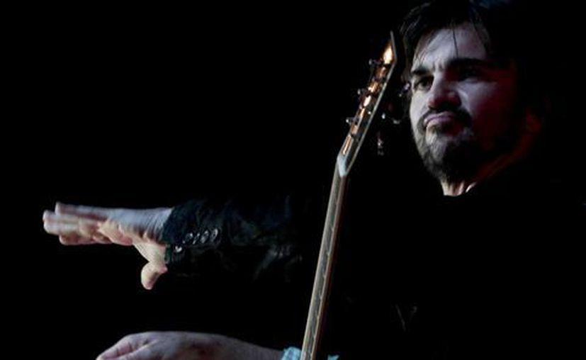 El cantautor está nomidado al Mejor Album Latino Pop, por su disco 'Juanes Mtv Unplugged'. (Archivo Notimex)