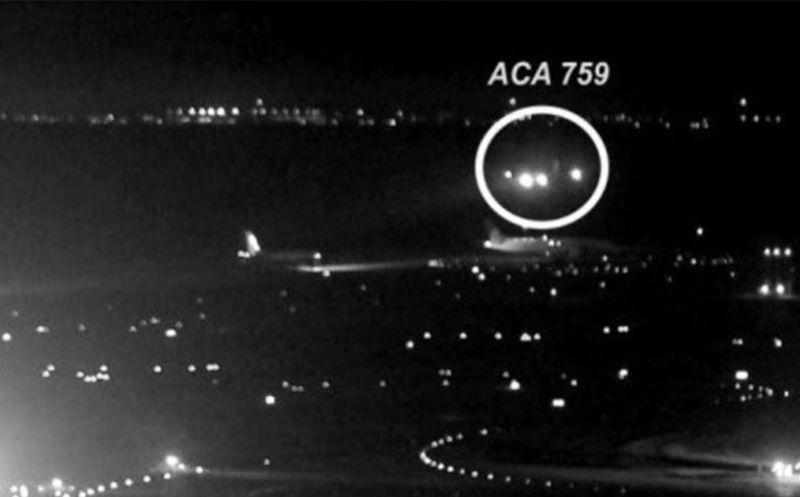 Revelan imágenes de dos aviones que rozaron alas en Toronto