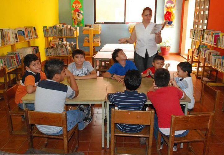 Yucatán marca la pauta en la literatura infantil con la nueva sala de lectura para bebés de 0 a 3 años. (Cortesía)