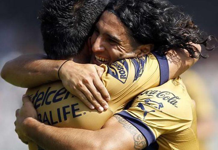 A Pumas le sentó bien la primera victoria en la  Liga MX. (Archivo)