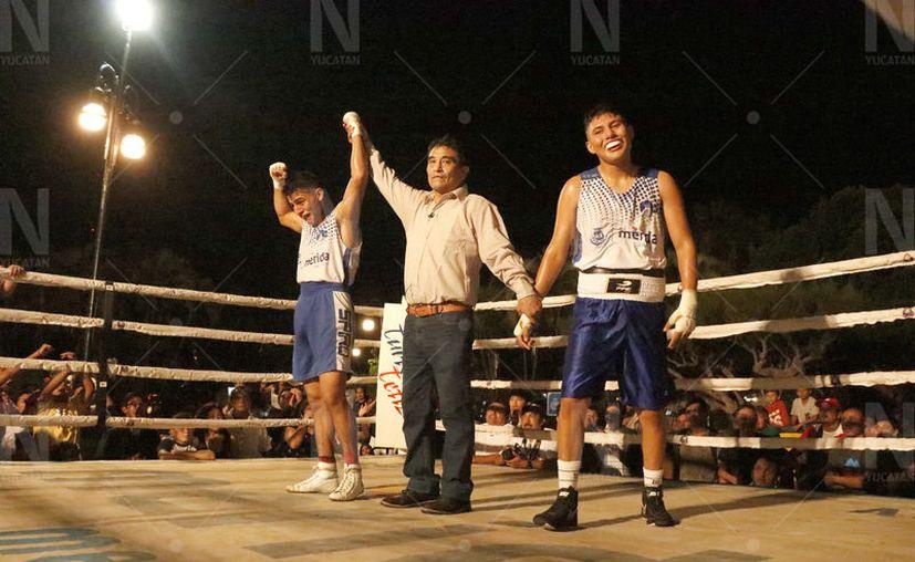 La risa de Zaid Yam lo dice todo: la decisión fue polémica. (José Acosta/Novedades Yucatán)