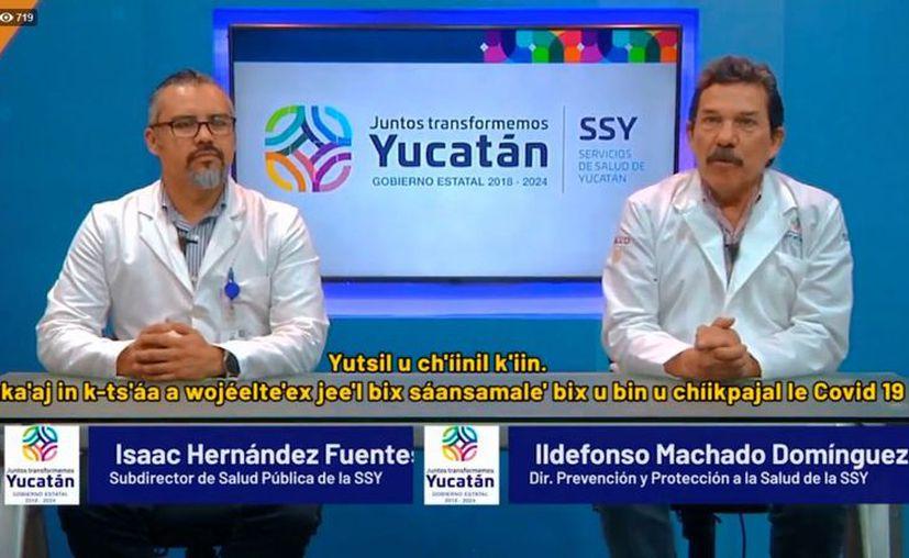 Este lunes, autoridades de la SSY informaron que en Yucatán ya suman 46 casos positivos de personas con Covid-19. (Foto: captura de pantalla)