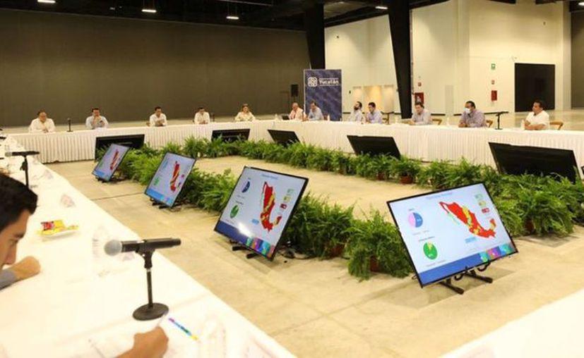 Los integrantes del CCE de Yucatán pidieron a Mauricio Vila que el gobierno del Estado adquiera créditos a corto y largo plazo. (Novedades Yucatán)