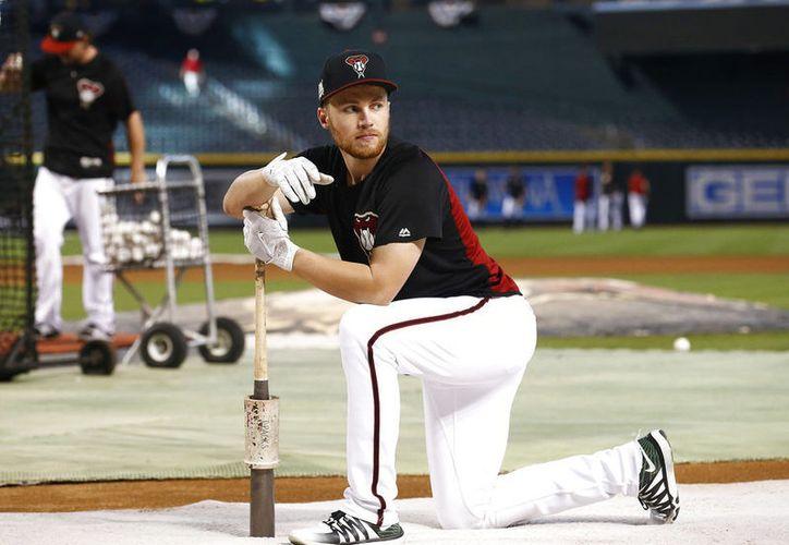 Drury jugó la mayoría del tiempo en Arizona en la segunda base.  (Vanguardia)