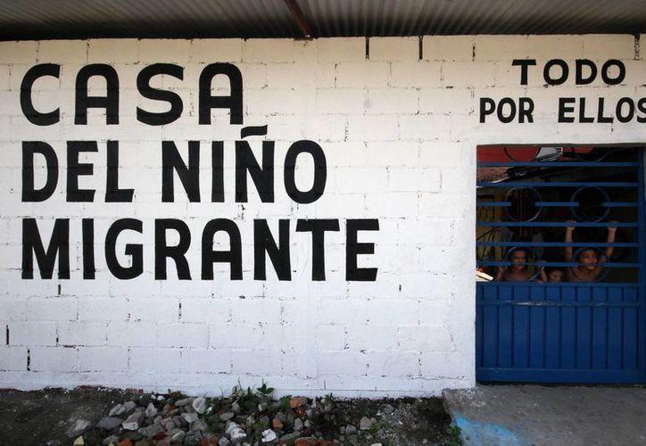 """Como muchos otros inmigrantes, Brenda Maribel y sus tres hijos encontraron en el albergue """"Todo por ellos A.C."""", en Tapachula, Chiapas, comida, alojamiento y orientación jurídica. (Foto: Archivo/Notimex)"""