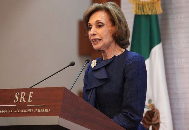 En 1998, Green Macías se convirtió la primera mujer que desempeñó el cargo de Canciller.  (Foto: Sexenio)