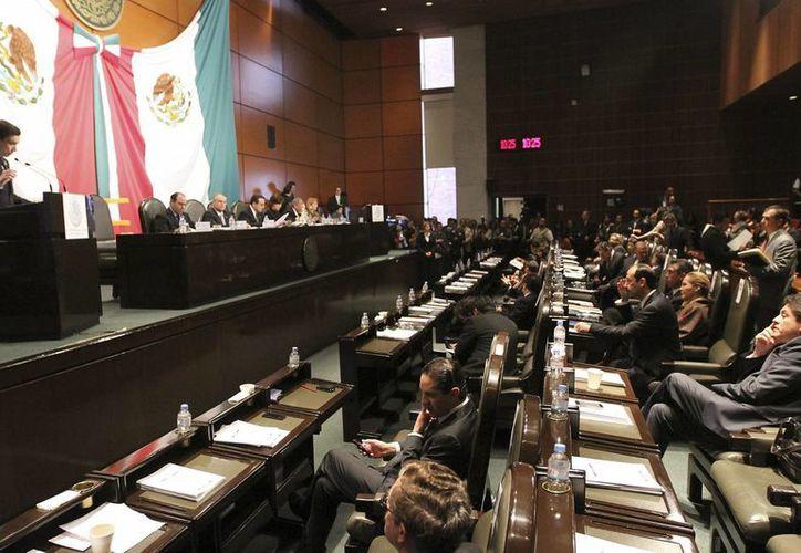 Nueva Alianza se opone a la reforma por considerarla una estrategia de intereses particulares. (Notimex)