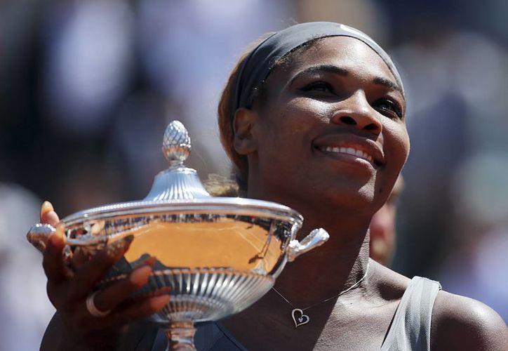 Es el tercer título italiano que logra Serena Williams en su carrera. (AP)