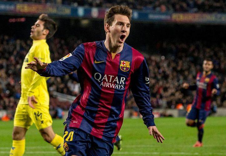 Lionel Messi está en el centro de la polémica porque empresarios que organizaron partidos del astro argentino del Barcelona tienen nexos con el narco, según una investigación de la DEA. (Archivo/NTX)