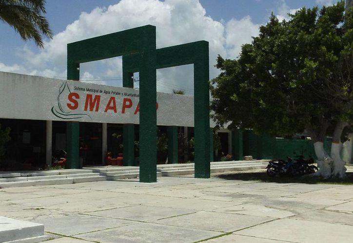 De no llegar a un arreglo, el IMSS podría embargar inmuebles del Sistema Municipal de Agua y Alcantarillado de Progreso. (Manuel Pool/SIPSE)
