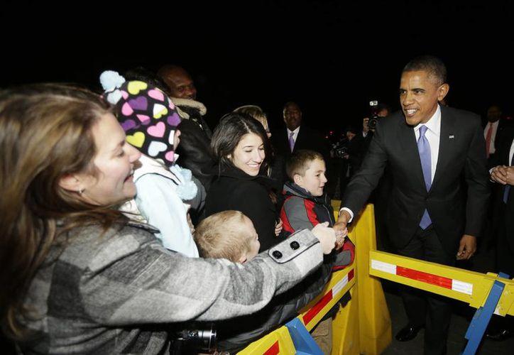 """Obama admitió que """"es legítimo"""" que los ciudadanos esperen de él que recupere algo de la """"credibilidad. (EFE)"""
