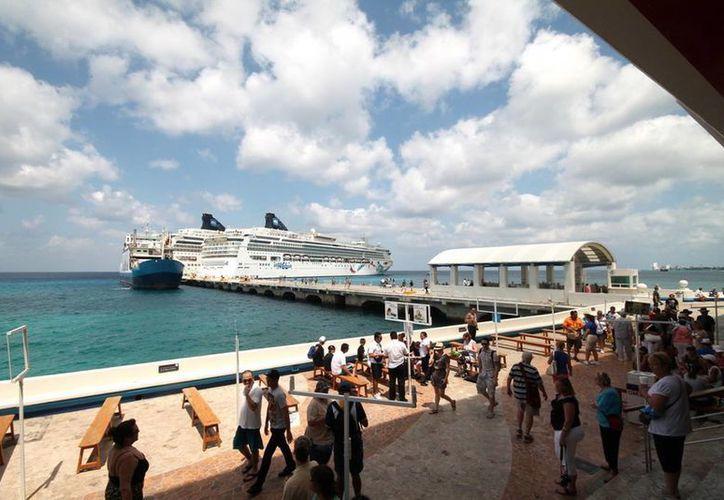 A partir del martes 21 de enero empezarán a llegar los pasajeros de los cruceros. (Redacción/SIPSE)