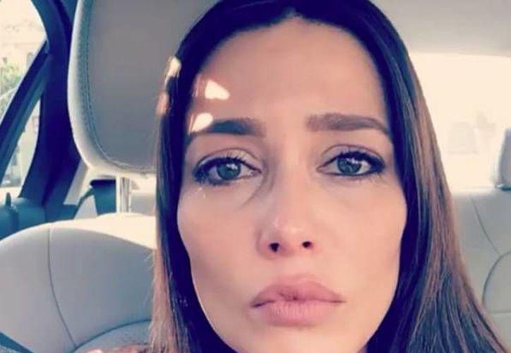 Con lágrimas en los ojos, Adriana Fonseca denunció ser víctima de discriminación en un casting llevado a cabo en EU.(Foto tomada de Instagram/Adriana Fonseca)