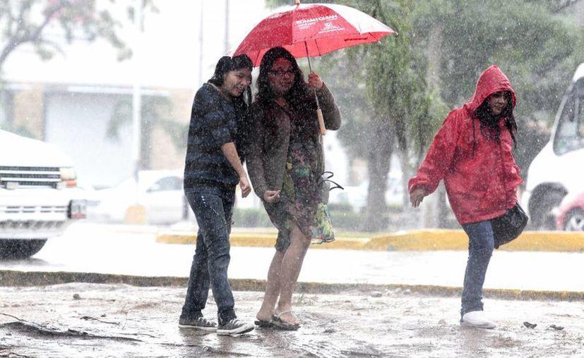 Las lluvias se sentirán durante las próximas 48 horas en el Estado. (Contexto/Internet)