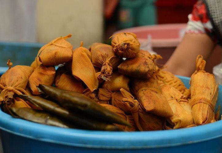 Tamales de varios estados del país podrán ser degustados por los asistentes a la II Feria, en Ciudad Caucel. (Luis Pérez)